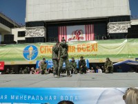 1 мая 2010 показательное выступление на Театральной площади