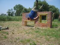 2-я тренировка на гребном канале. 2010г