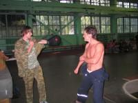 Тренировка в манеже