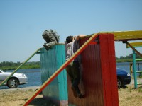 Тренировка на Гребом канале лето 2010