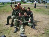 Троица на Гниловской. Показательные выступления 23 мая 2010